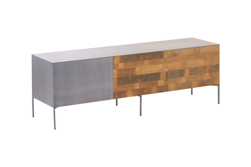 Toff Pandora tv-meubel 1 klapdeur - 2 laden