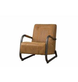 Sidd Barn fauteuil - leder rust