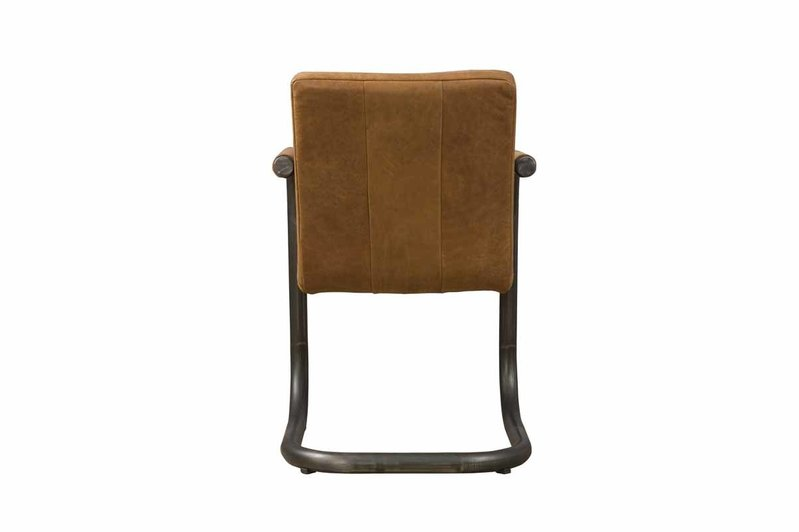 Sidd Lasso armstoel - leder rust