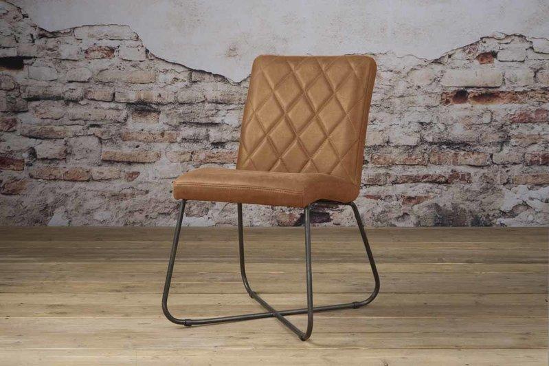Sidd Rodeo stoel - leder rust