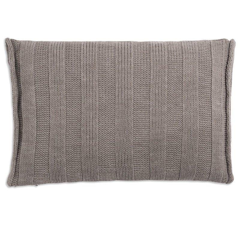 Knit Factory Knit Factory Jesse Kussen 60x40 Taupe