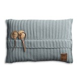 Knit Factory Knit Factory Aran Kissen 60x40 Stone Green