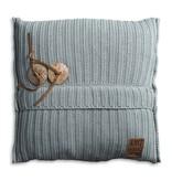 Knit Factory Knit Factory Aran Kissen 50x50 Stone Green