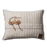 Knit Factory Knit Factory Aran Kissen 60x40 Beige