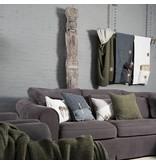 Knit Factory Knit Factory Aran Kissen 60x40 Grün