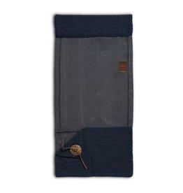 Knit Factory Barley Pocket Dunkel Blau