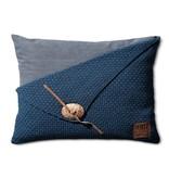 Knit Factory Knit Factory Barley Kussen 60x40 Jeans