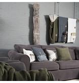 Knit Factory Knit Factory Barley Kussen 60x40 Licht Grijs