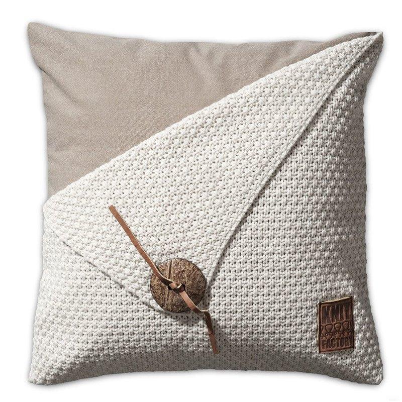 Knit Factory Knit Factory Barley Kissen 50x50 Beige