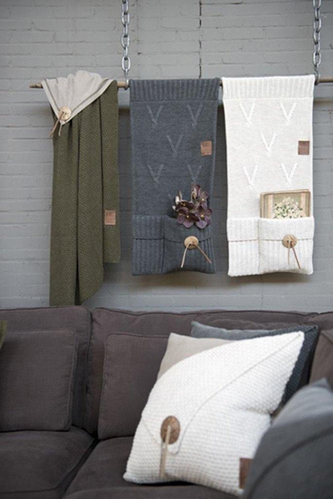 Knit Factory Knit Factory Barley Kussen 50x50 Beige