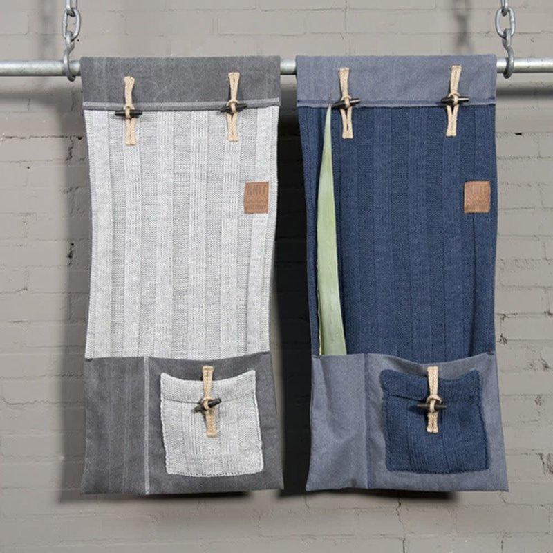 Knit Factory Knit Factory 6x6 Rippe Pocket Anthrazit
