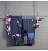 Knit Factory Knit Factory 6x6 Rippe Pocket Dunkel Blau