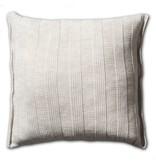 Knit Factory Knit Factory 6x6 Rippe Kissen 50x50 Beige