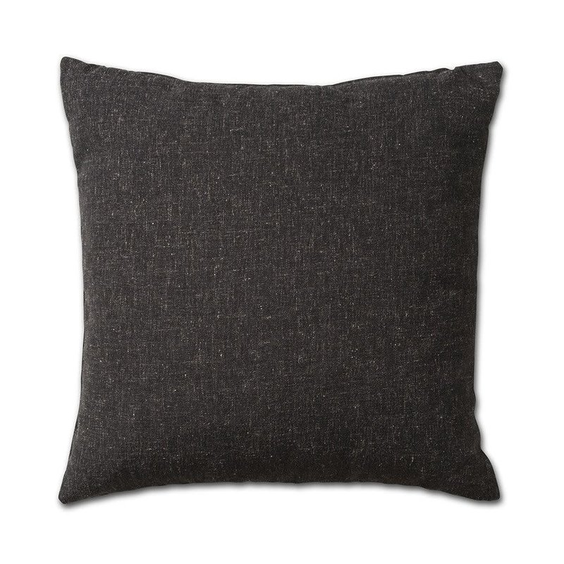 Knit Factory Knit Factory Lois Kissen 50x50 Schwarz Melee