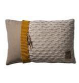 Knit Factory Knit Factory Joep Kussen 60x40 Beige Mêlee
