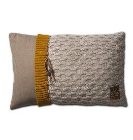 Knit Factory Joep Kussen 60x40 Beige Mêlee