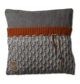 Knit Factory Knit Factory Joep Kissen 50x50 Grau Melee