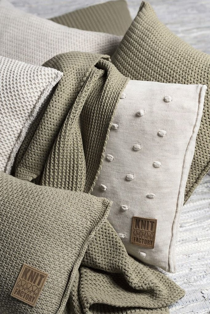 Knit Factory Knit Factory Noa Kussen 50x50 Taupe