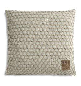 Knit Factory Mila Kissen 50x50 Seda/Olive