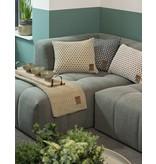 Knit Factory Knit Factory Mila Kussen 50x50 Olive/Seda