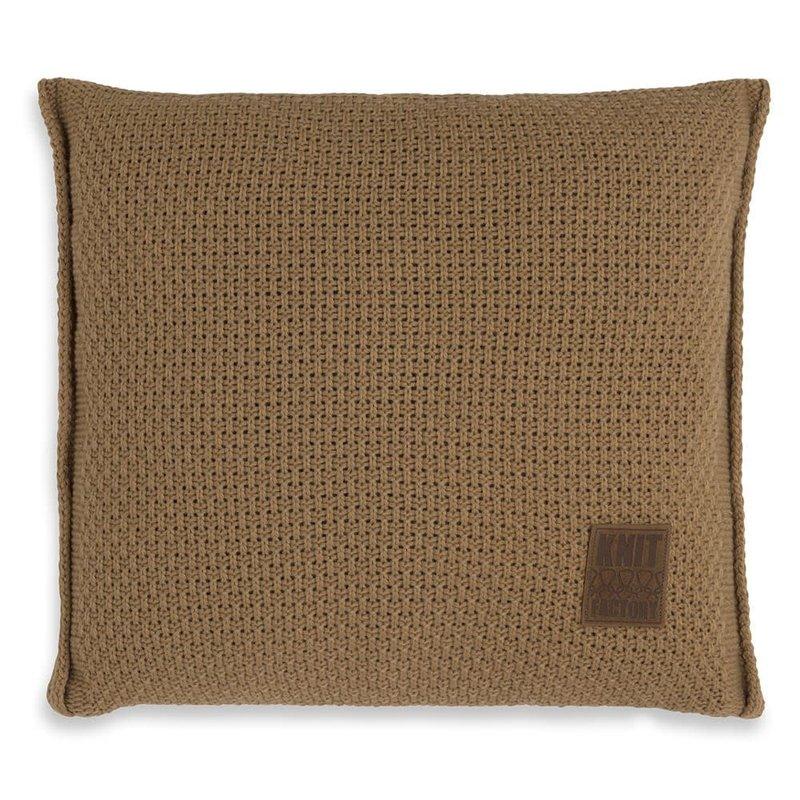 Knit Factory Knit Factory Jesse Kussen 50x50 New Camel