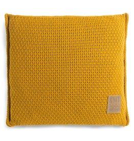 Knit Factory Jesse Kissen 50x50 Oker