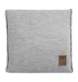 Knit Factory Knit Factory Jesse Kussen 50x50 Licht Grijs