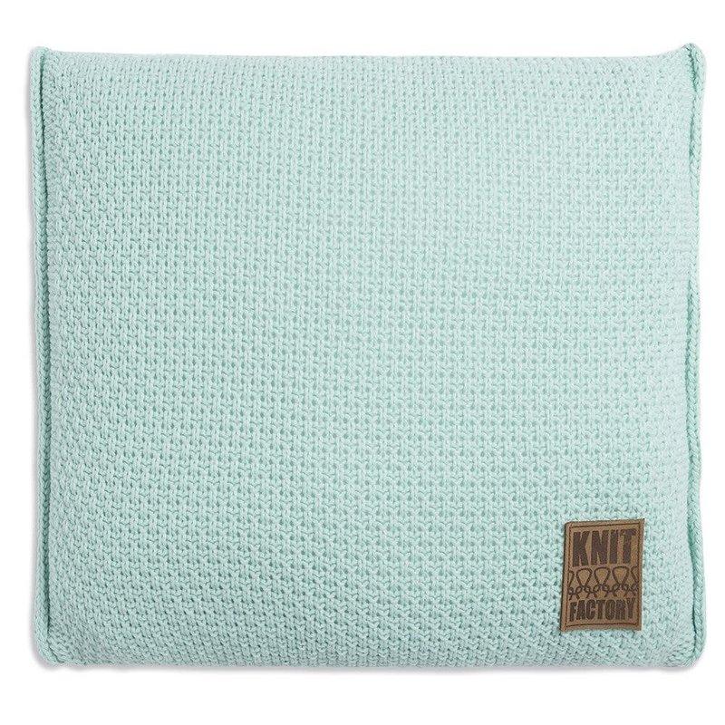 Knit Factory Knit Factory Jesse Kissen 50x50 Minze