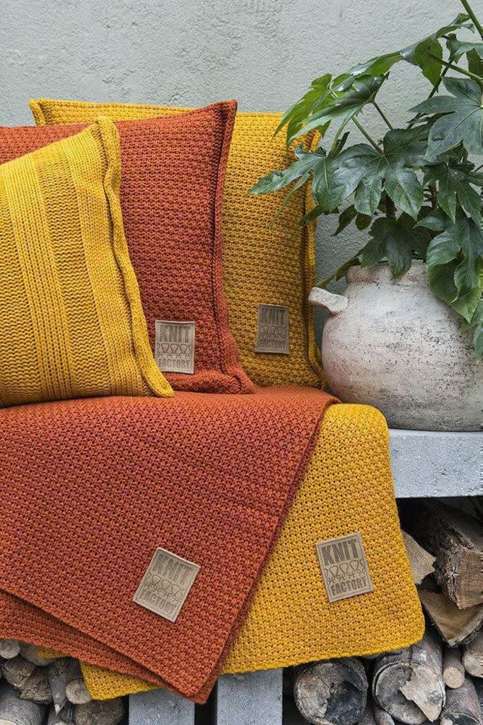 Knit Factory Knit Factory Jesse Kissen 50x50 Rosa