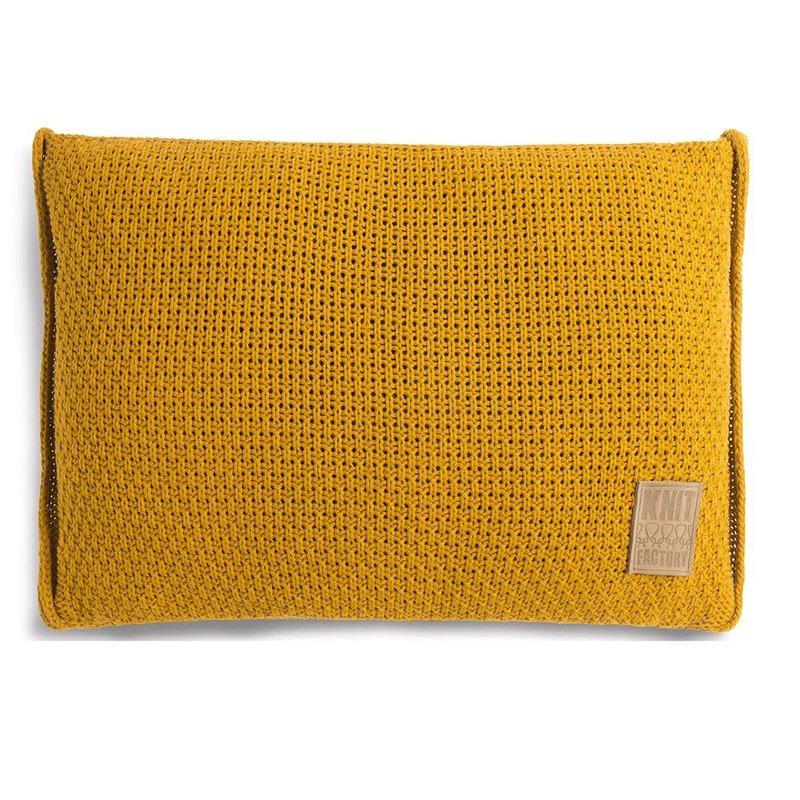 Knit Factory Knit Factory Jesse Kissen 60x40 Oker