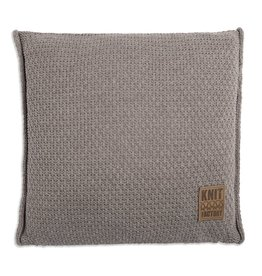 Knit Factory Jesse Kissen 50x50 Taupe
