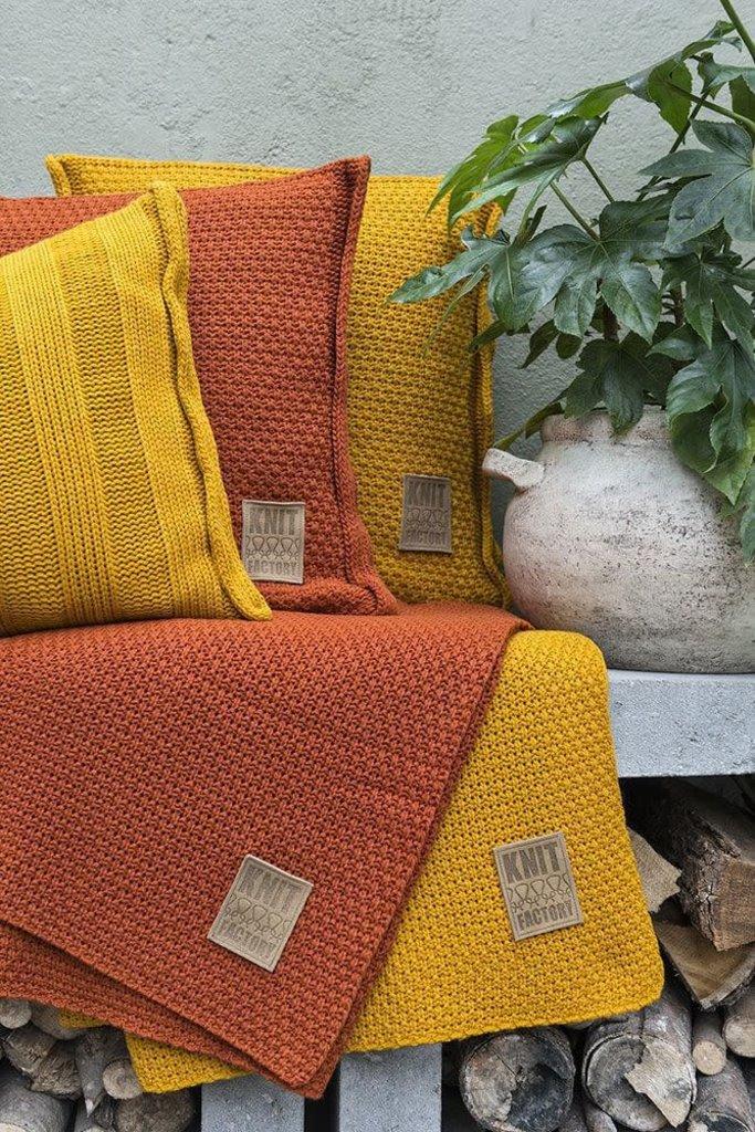 Knit Factory Knit Factory Jesse Kussen 60x40 Terra
