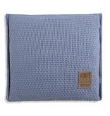 Knit Factory Knit Factory Jesse Kussen 50x50 Indigo