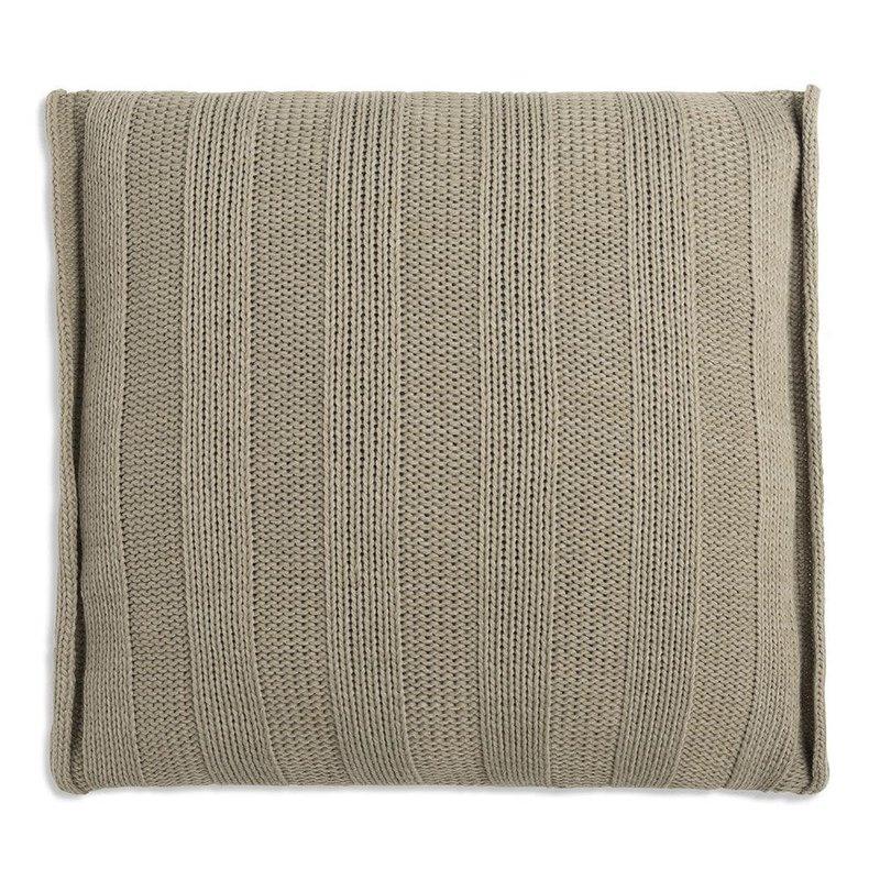 Knit Factory Knit Factory Jesse Kissen 50x50 Olive