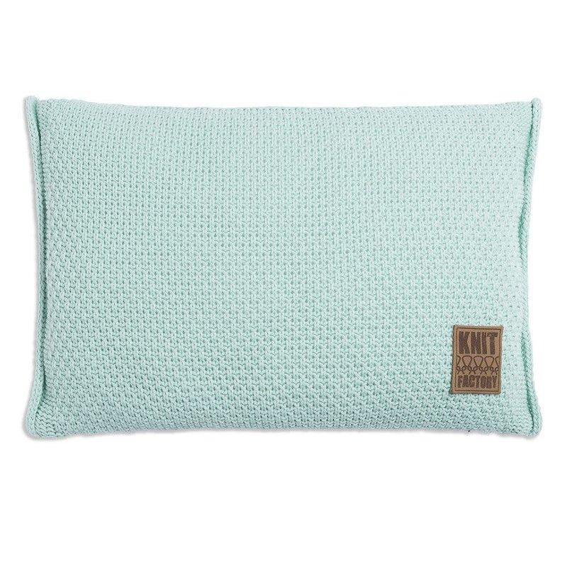 Knit Factory Knit Factory Jesse Kussen 60x40 Mint