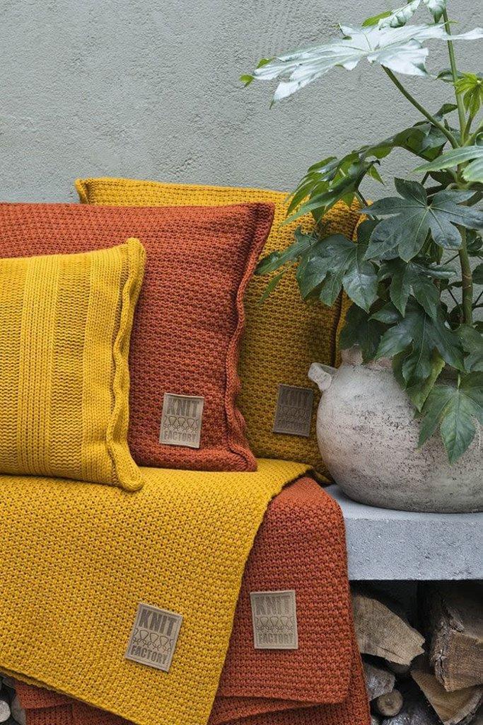 Knit Factory Knit Factory Jesse Kussen 60x40 Licht Grijs