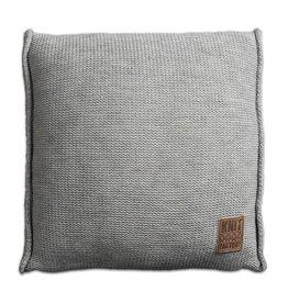 Knit Factory Uni Kussen 50x50 Licht Grijs