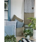 Knit Factory Knit Factory Uni Kussen 50x50 Licht Grijs