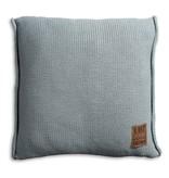 Knit Factory Knit Factory Uni Kussen 50x50 Stone Green