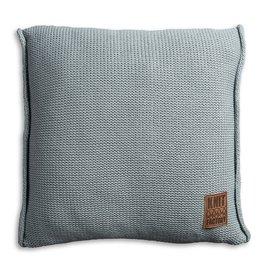 Knit Factory Uni Kussen 50x50 Stone Green