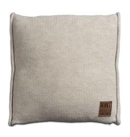 Knit Factory Uni Kussen 50x50 Beige