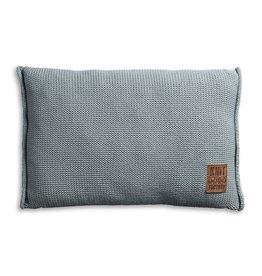 Knit Factory Uni Kussen 60x40 Stone Green