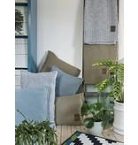 Knit Factory Knit Factory Uni Kissen 50x50 Dunkel Blau