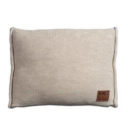 Knit Factory Uni Kussen 60x40 Beige