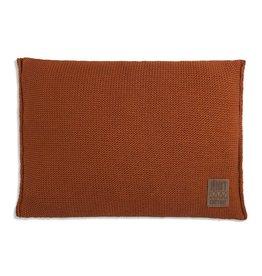 Knit Factory Uni Kissen 60x40 Terra