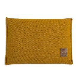 Knit Factory Uni Kussen 60x40 Oker