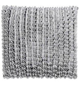 Knit Factory Sara Kussen 50x50 Licht Grijs/Antraciet