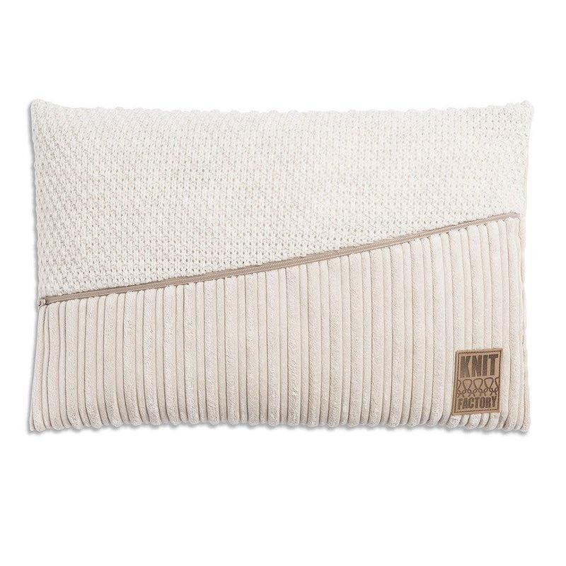 Knit Factory Knit Factory Sam Kussen 60x40 Beige/Beige