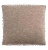 Knit Factory Knit Factory Sara Kussen 50x50 Beige/Marron