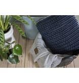 Knit Factory Knit Factory Sara Kissen 50x50 Jeans/Indigo